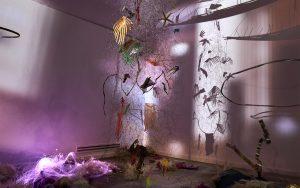 Marta Krzeslak, Ayaaoeho, 2021, exhibition view1, Szara Kamienica Gallery1