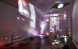 Marta Krzeslak, Ayaaoeho, exhibition view1, Szara Kamienica Gallery2