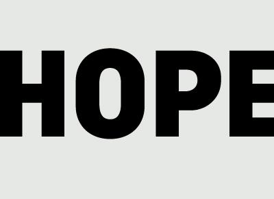 Plakat – <em>Hope</em>