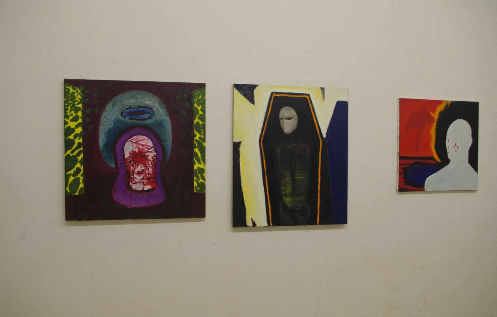 <em>I tochyba łzy…</em> Grzegorz Wnęk – malarstwo